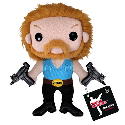 Chuck Norris Talking Plush