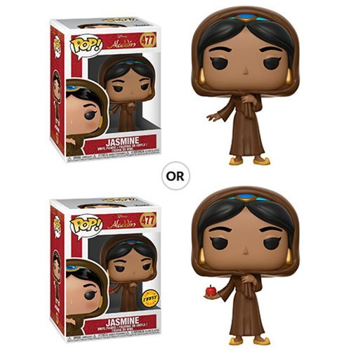 Aladdin Jasmine in Disguise Pop! Vinyl Figure #477, Not Mint