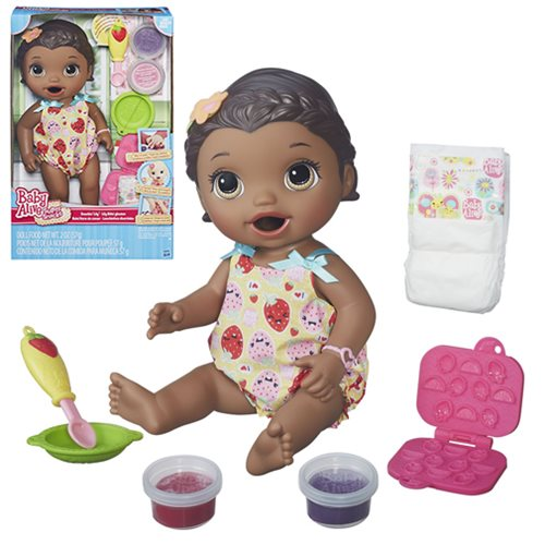 Baby Alive Snackin' Lily Doll (African American), Not Mint