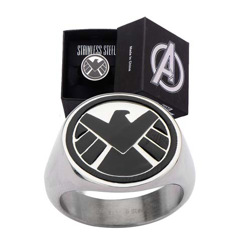 Agents of S.H.I.E.L.D. Logo Ring