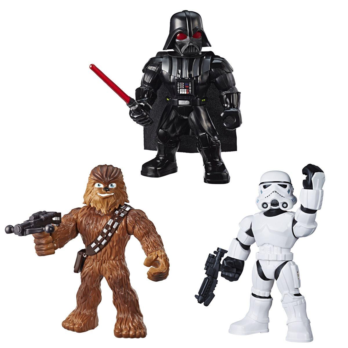 Star Wars Galactic Heroes Mega Mighties 3-Pack 10-Inch Action Figures New 2020