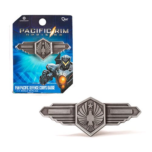 Pacific Rim Uprising Pan Pacific Defense Corps Badge Replica