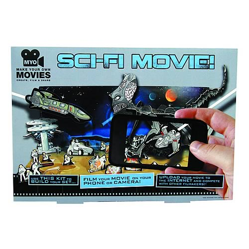 Make Your Own Sci-Fi Movie Model Kit