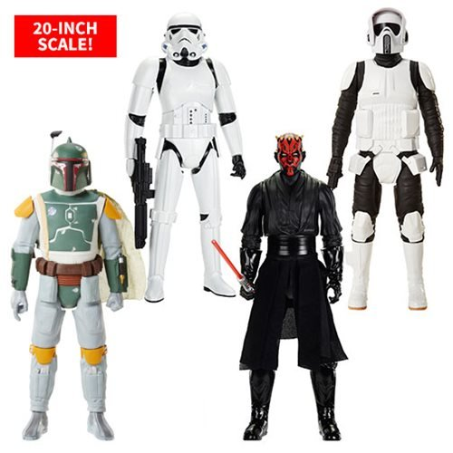 Star Wars 20-Inch Big Fig Action Figure Wave 6 Case