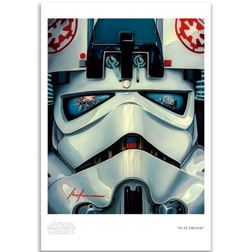Star Wars: The Empire Strikes Back AT-AT Driver by Christian Waggoner Paper Giclee Art Print