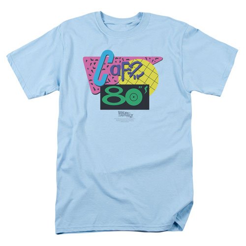 Back to the Future Cafe 80's T-Shirt