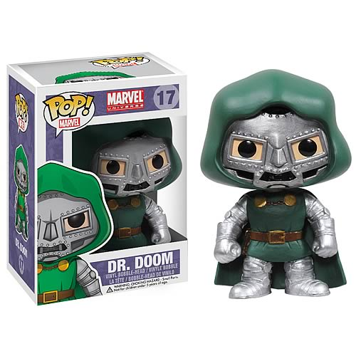 Fantastic Four Dr. Doom Marvel Pop! Vinyl Bobble Head
