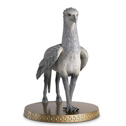 Harry Potter Wizarding World Collection Buckbeak the Hippogriff Figure with Collector Magazine