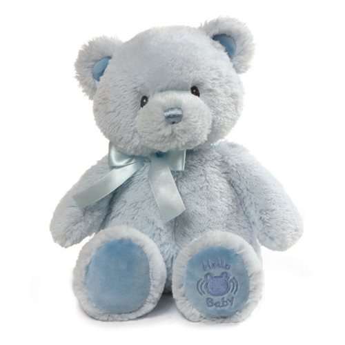My First Teddy Hello Baby Blue Plush