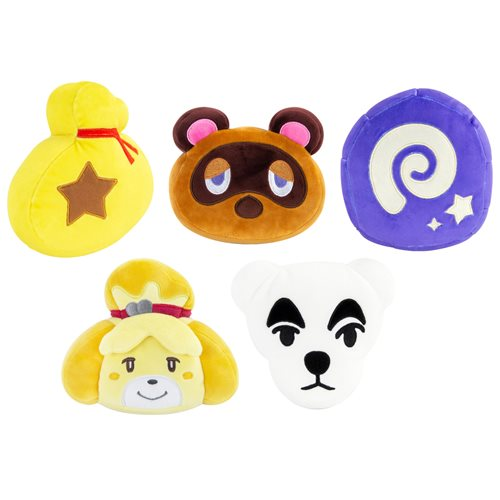 Club Mocchi Animal Crossing Assorted 6-Inch Plush Case of 5