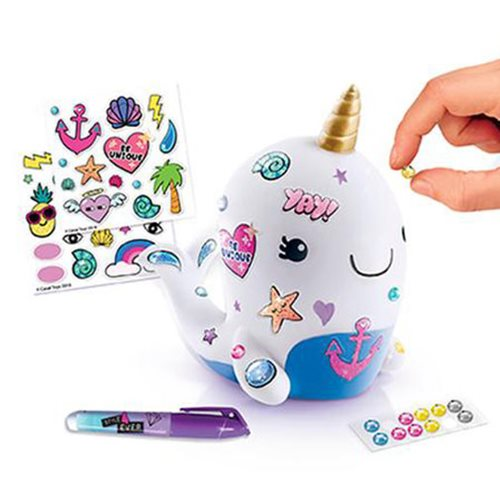 Style 4 Ever DIY Narwhal Coin Bank Kit