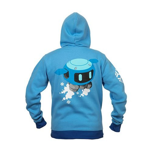 Overwatch Ultimate Mei Zip-Up Hoodie