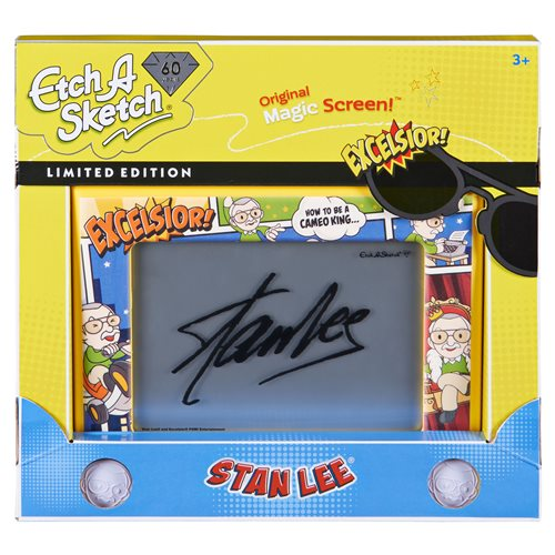 Etch A Sketch Classic Stan Lee Edition Drawing Toy