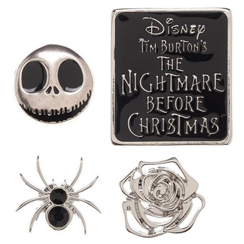 Nightmare Before Christmas Lapel Pin Set