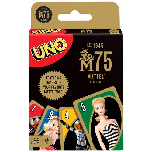 Mattel 75th Anniversary UNO Game