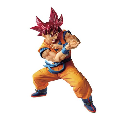 Dragon Ball Super Super Saiyan God Goku Blood of Saiyans Special VI Statue