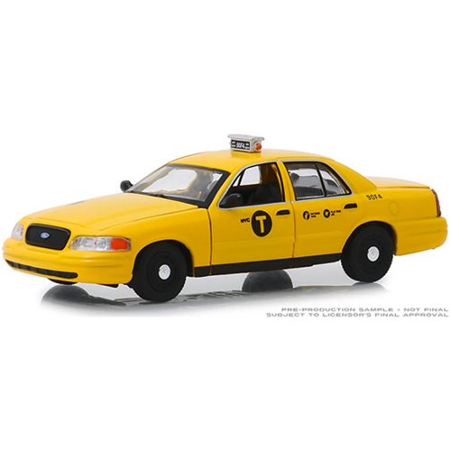 John Wick: Chapter 2 2017 - 2008 Ford Crown Victoria Taxi 1:43 Scale Die Cast Metal Vehicle