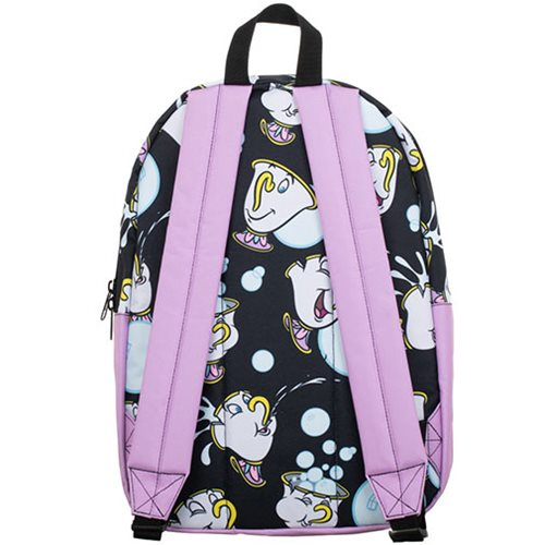 Beauty and the Beast Chip Print Backpack