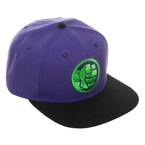 f0a5bb13b48af Avengers  Endgame Hulk Snapback Hat - Entertainment Earth