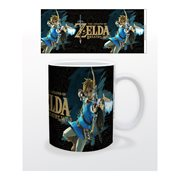 The Legend of Zelda Breath of the Wild Game Cover 11 oz. Mug