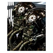 Star Wars TIE Fighter Pilots by Cliff Cramp Canvas Giclee Art Print