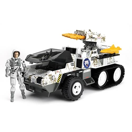 G.I. Joe Pursuit of Cobra Wolf Hound Vehicle with Whiteout