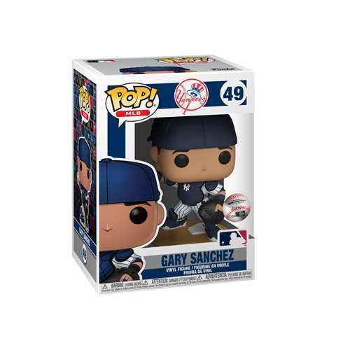 MLB Yankees Gary Sanchez Pop! Vinyl Figure