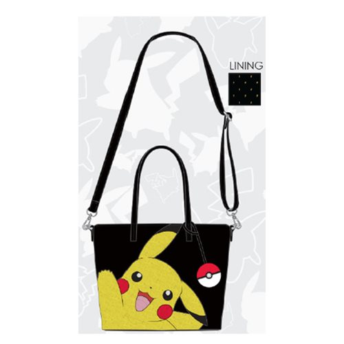 Pokemon Pikachu Waving Tote Purse