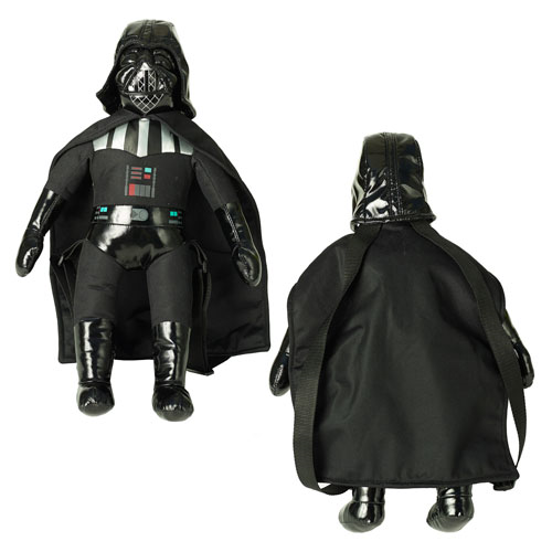Star Wars Darth Vader 17-Inch Plush Backpack