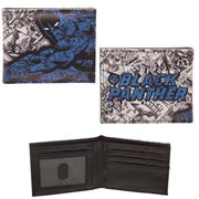 Black Panther Comic Art Bi-Fold Wallet