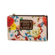 Captain Marvel Floral Bifold Wallet