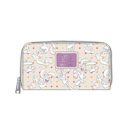 Trix Polka Dot Print Zip-Around Wallet