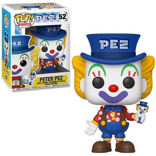 PEZ Peter Pez Blue Hat Pop! Vinyl Figure
