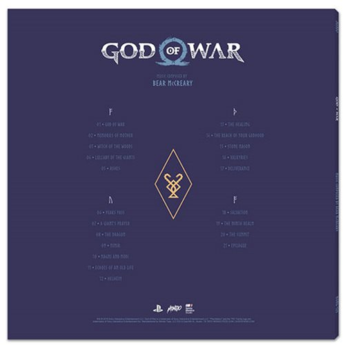 God of War Original Video Game Soundtrack 2XLP