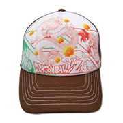 Dragon Ball Z Manga Adjustable Trucker Hat