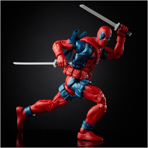 X-Men X-Force Retro Marvel Legends 6-Inch Deadpool Action Figure - Exclusive