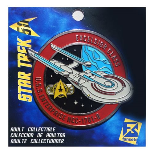 Star Trek Enterprise NCC-1701-B Pin