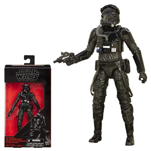 Star Wars The Force Awakens The Black Series First Order TIE Fighter Pilot 6-Inch Action Figure