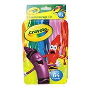 Crayola Large Crayon Storage Tin Box