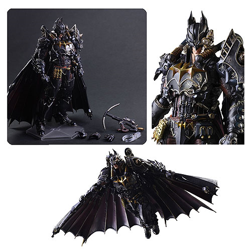 Batman Timeless Steampunk by Hitoshi Kondo Variant Play Arts Kai Action Figure, Not Mint
