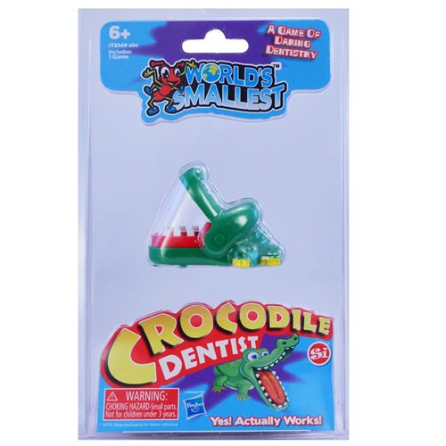 World's Smallest Crocodile Dentist Game