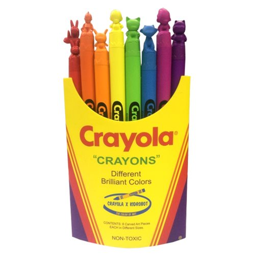 Kidrobot x Crayola Crayons Medium-Sized Box Vinyl Figure
