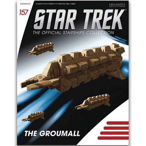 Star Trek Starships Groumall with Collector Magazine #157