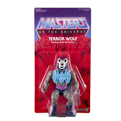 Masters of the Universe Terror Wolf Vintage Action Figure
