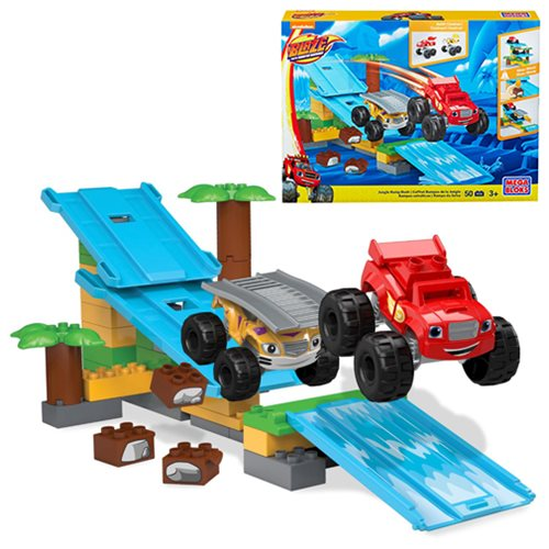 Mega Bloks Blaze Blaze and the Monster Machines Jungle Ramp Rush