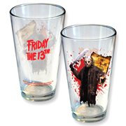 Friday The 13th Jason Camp Crystal Lake Pint Glass