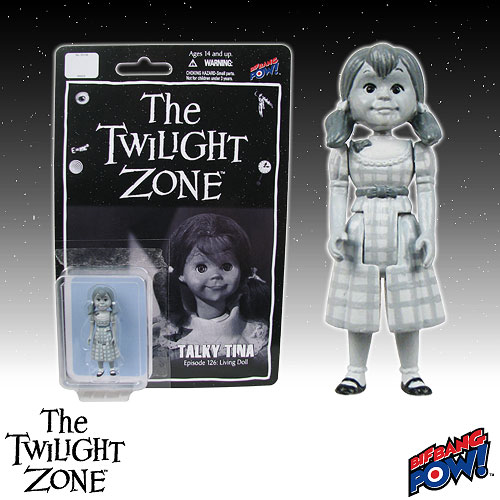 The Twilight Zone Talky Tina 3 3/4-Inch Scale Action Figure Series 1
