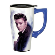 Elvis Presley Portrait Travel Mug