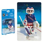 Playmobil 5081 NHL New York Rangers Goalie Action Figure