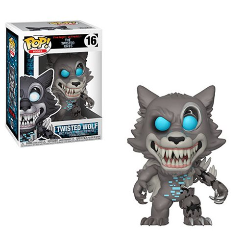 Five Nights at Freddys Twisted Ones Twisted Wolf Pop! Vinyl Figure, Not Mint